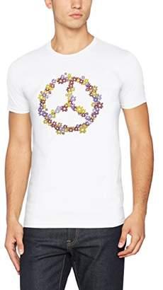 FM London Men's Printed Design T-Shirt
