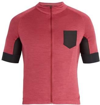 Café Du Cycliste Cafe Du Cycliste - Louise Wool Blend Cycle Top - Mens - Light Pink