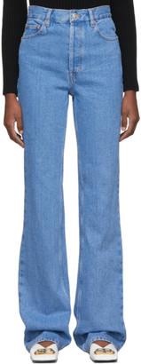 Balenciaga Blue Straight Jeans