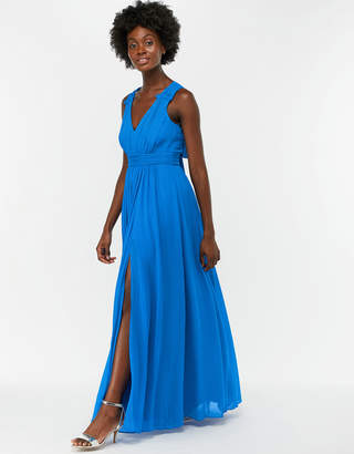Monsoon Sinead Bow Back Maxi Dress