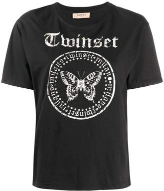 Twin-Set logo print T-shirt