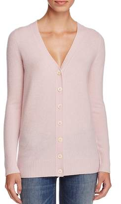 C By Bloomingdale's Cashmere Button-Front Cardigan - 100% Exclusive $178 thestylecure.com