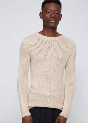 Rick Owens Seamless Oversized Roundneck Sweater
