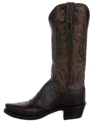 Lucchese Western Pointed-Toe Boots