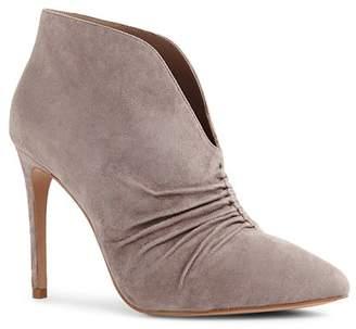 Reiss Women's Emelyn Ruched Suede High Heel Booties