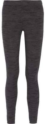 Splendid Ribbed Stretch-Jersey Leggings