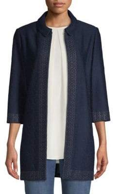 St. John Knit-Trim Jacket