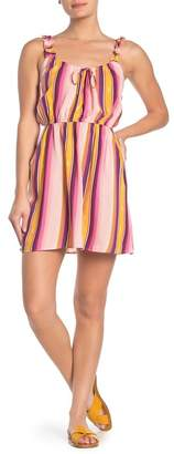 BeBop Ruffled Stripe Dress