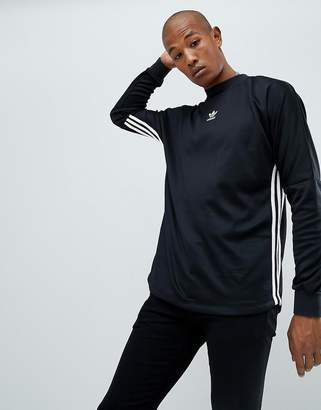 adidas Authentic Long Sleeve Top In Black DJ2866