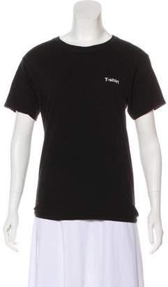 Vetements x Hanes 2017 Short Sleeve T-Shirt