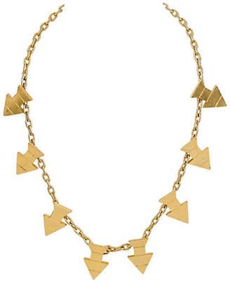 One Kings Lane Vintage Pierre Cardin Gold Arrow Necklace