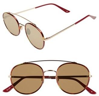 Women's Sunday Somewhere 'Parker' 52Mm Sunglasses - Chocolate Tort/ Gold/ Bronze $370 thestylecure.com