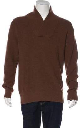 Gucci Wool Shawl Sweater