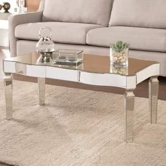 House of Hampton Paulsen Mirrored Coffee Table