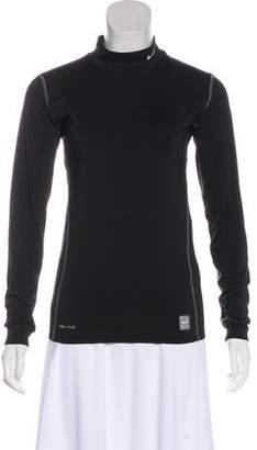 Nike Long Sleeve Mock Neck Top