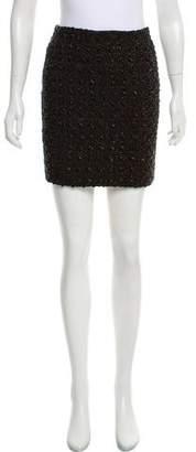 Alberta Ferretti Embellished Mini Skirt