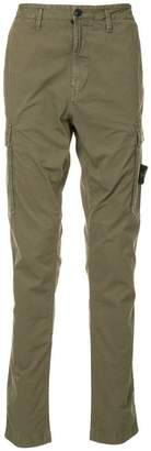 Stone Island side pocket trousers