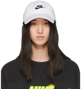 Nike White Heritage 86 Futura Cap