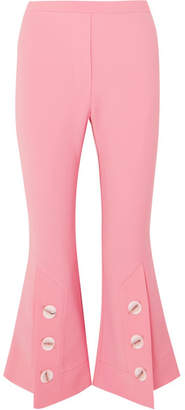 Fourth Element Crepe Flared Pants - Pink