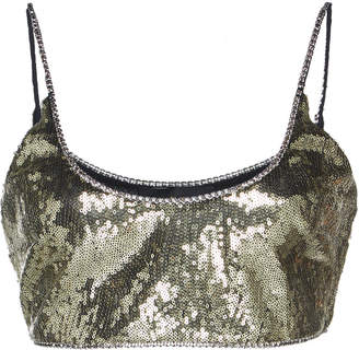 Dundas Sleeveless Sequin Bralette