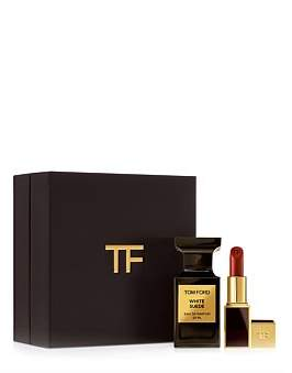 Tom Ford White Suede Set