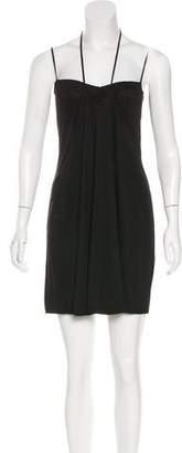 Celine Halter Mini Dress