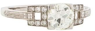 d Collection Sophia Platinum 0.95ctw Diamond Engagement Ring
