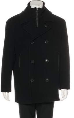 Andrew Marc Wool & Cashmere Peacoat