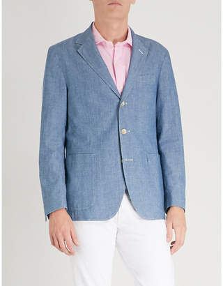 Polo Ralph Lauren Morgan notch-lapel cotton jacket