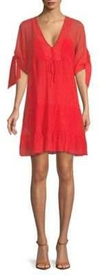 BCBGMAXAZRIA Woven Casual Shift Dress