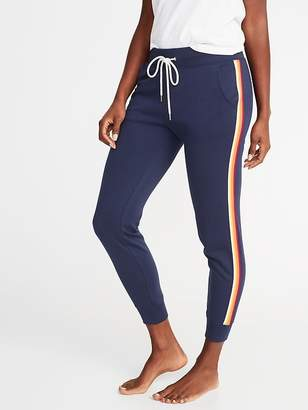 Old Navy French Terry Side-Stripe Joggers for Women