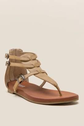 Mia Dashiell Buckle T-Strap Sandal - Nude