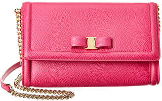 Salvatore Ferragamo Vara Mini Leather Crossbody