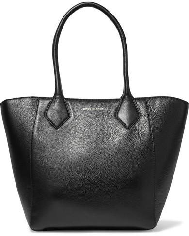 Eddie Harrop - Cruiser Textured-leather Tote - Black