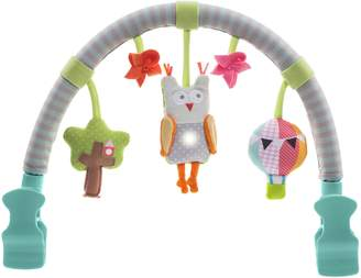 Taf Toys Musical Arch - Owl. Stroller, Pram and Car Seat Activity Bar by