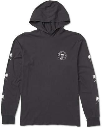 Billabong Men Tendencies Logo Graphic Hooded T-Shirt