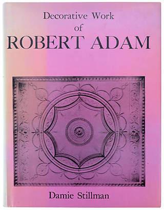 One Kings Lane Vintage Decorative Work of Robert Adam - 1st Ed
