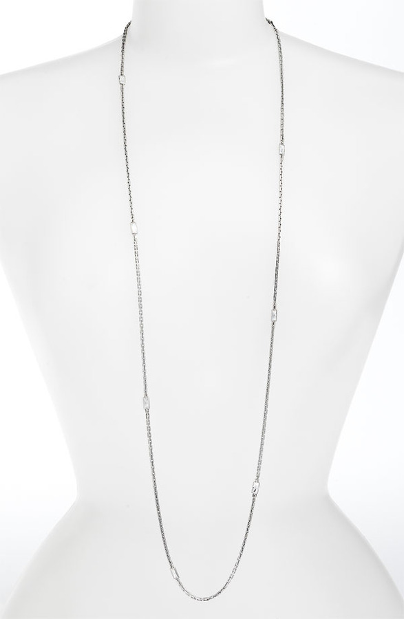 Michael Kors 'Very Hollywood' Long Station Necklace
