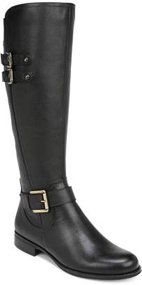 Naturalizer N5 Contour Jessie Leather Tall Riding Boots