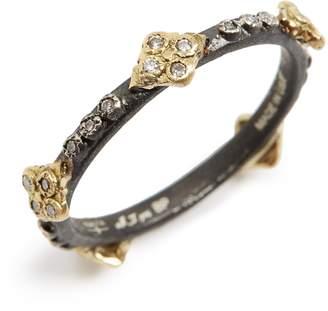 Armenta Old World Crivelli Diamond Stack Ring
