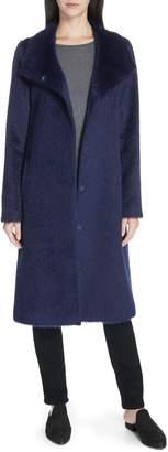 Eileen Fisher Alpaca Blend Long Coat