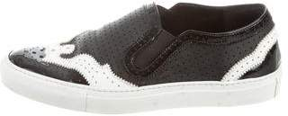 Givenchy Perforated Slip-On Sneakers