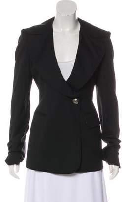 Thomas Wylde Wool Long Sleeve Blazer