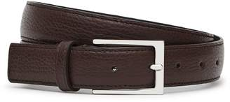 Reiss Theo Grained Leather Belt