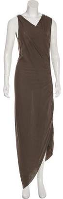 Rick Owens Lilies Sleeveless Maxi Dress
