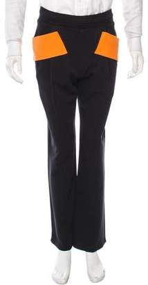 Givenchy Colorblock Straight-Leg Sweatpants w/ Tags