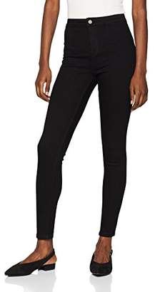 Glamorous Women's Nell Skinny Jeans (Black Bla), W30 (Manufacturer Size: M)