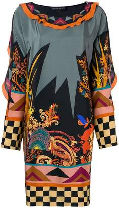 Etro all-over printed shift dress