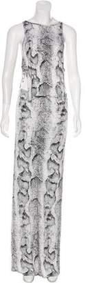 Indah Animal Print Maxi Dress