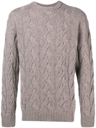 Barbour Thornton cable knit jumper